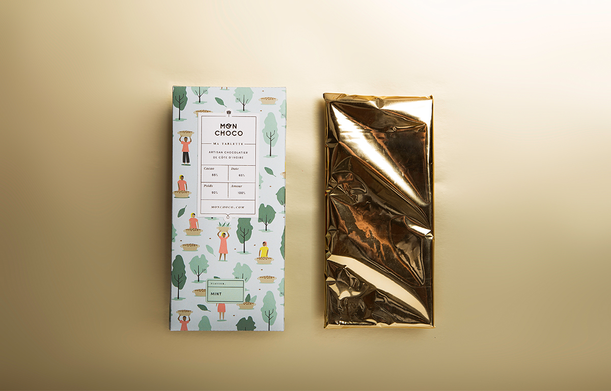 mon choco packaging