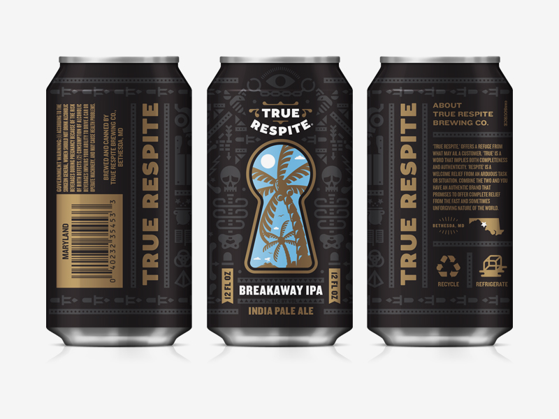 true respite brewing can