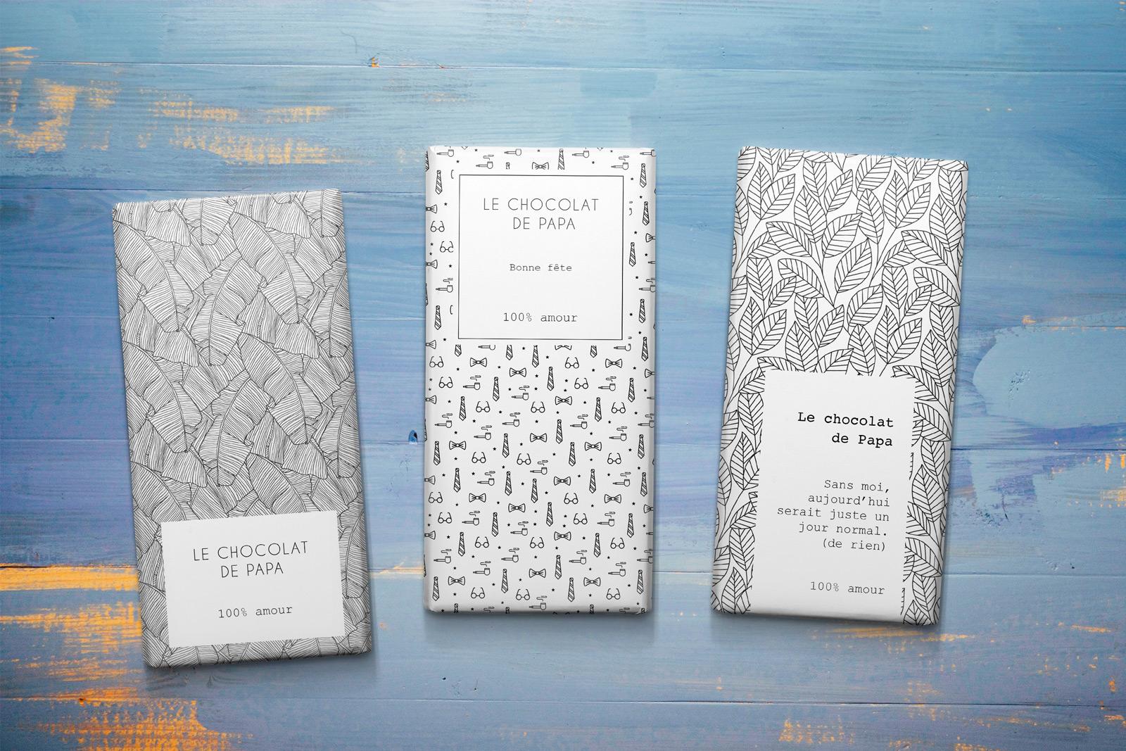 Diy tablette de chocolat pour la f te des p res the machist - Emballage tablette chocolat a imprimer gratuit ...